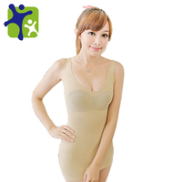 whole sale !! Women seamless make abadoman slimmer vest,female long vest,slimming thin underwear free shipping NY068