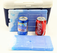 Pcm material ice sheet blow molded cooler ice pack for cans holder