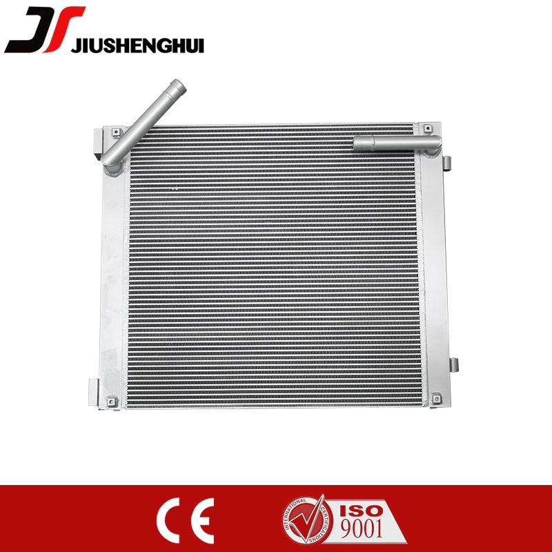 Oil cooler aluminum radiator for excavator