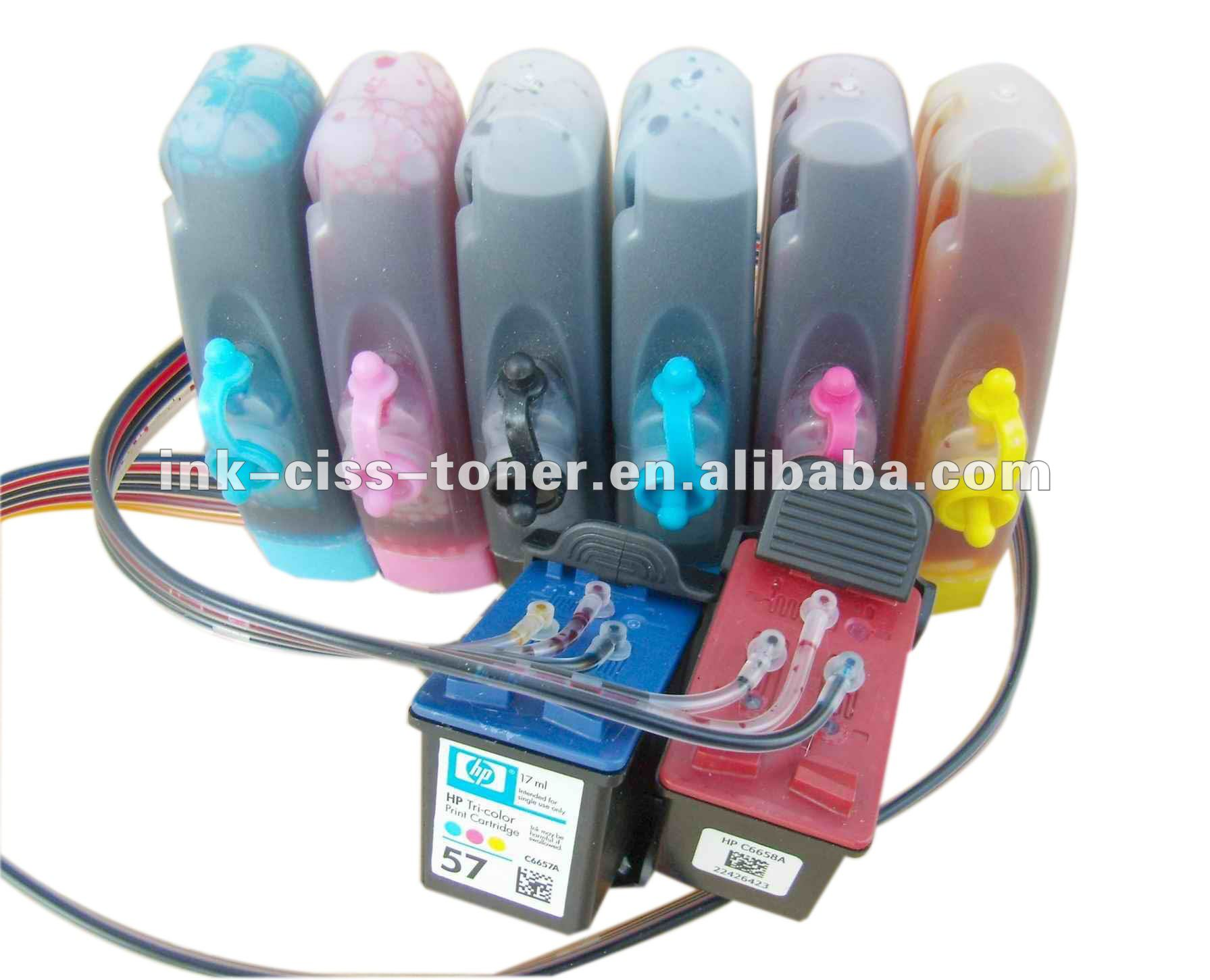 CISS ink system for HP Designjet 10ps 20ps 50ps