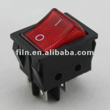 15a 250v KCD4 rocker switch on off 4 pin