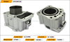 ZS200 Motorcycle Parts/Motor Engine Cylinder Body With Small Vent Port