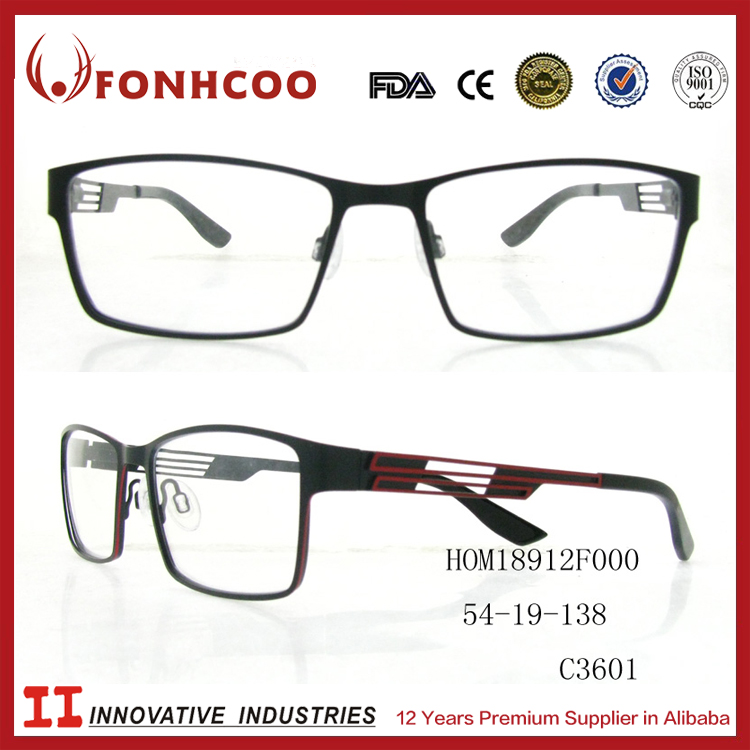 FONHCOO China Wholesale Fashion New Model Titan Eyeglasses Spectacle Frame