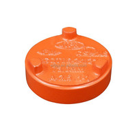 FM UL approved ductile iron sand casting galvanized pipe end cap
