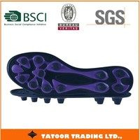 new TPU mould injection football soccer soles for sports shoes