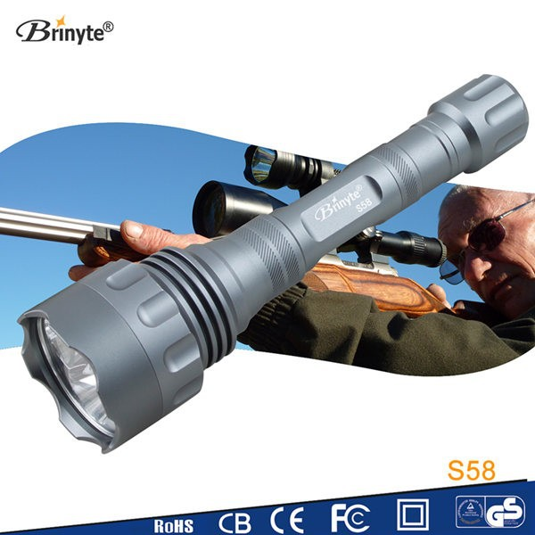 Brinyte S58 Best <strong>equipment</strong> Large power Titanium LED Flashlight