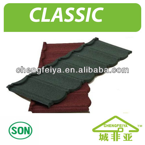Stone Metal Roof Tile