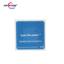 Encoding Printed Paper NFC Sticker/ NFC Tag / NFC Label, HF, 13.56Mhz, China Manufacturer