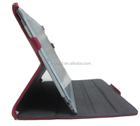 Heat shaping flip stand leather case for ipad 2