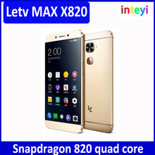 Original LeEco Letv Two Le Max 2 X820 6GB RAM 128GB ROM Snapdragon 820 Quad Core Mobile Phone 5.7 inch Android 21.0MP Ultraphoni