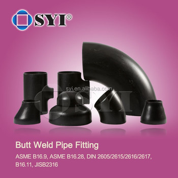a 234 Wpb Buttwelded Carbon Steel Pipe Fittings of SYI Group