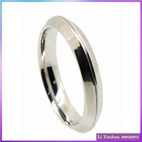 Hot Sell Promotional Direct Factory Price Plain Sample Wedding Ring Designs