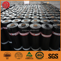 Self Adhesive Polymer Waterproofing Asphalt Membrane for Roof and Basement