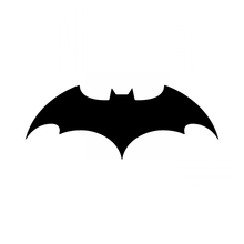 custom batman 68mm car stickers factory wholesale with cheap shipping cost