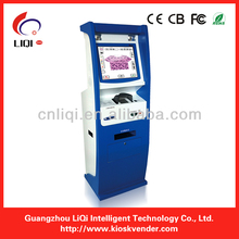 All-in-one Payment Kiosk With Cash Acceptor for mall