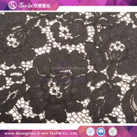 rayon fabric cotton floral eyelash lace softextile lace fabric for african lace wedding dress