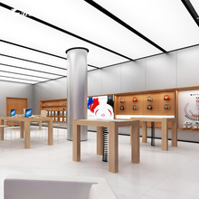 High-end retail mobile phone store interior design for apple shop display experience