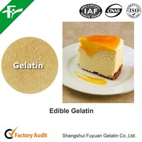 2015 Halal beef gelatin used in bakery/canned meat
