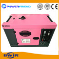 3kva to 7kva Diesel engine Moveable Generator Cheap Silent Portable Generators with wheels