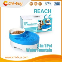 Chi-buy Hot Sale Pet Water Recycle Fountain Feeder for Dog Free Shipping Based on 49$