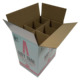 Alibaba Premium Market Beer Corrugated Paper Packaging Box