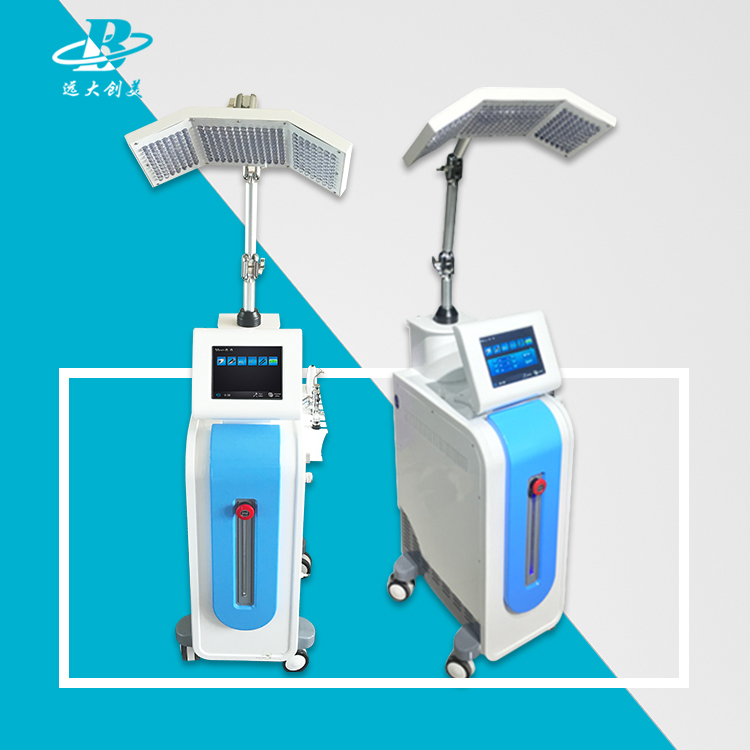Facial manage system oxygen jet peel galvanic massage therapy machine/wrinkle removal device