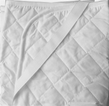Wholesale Washable Microfiber Peach Skin Quilted Hotel Bed Mattress Pads