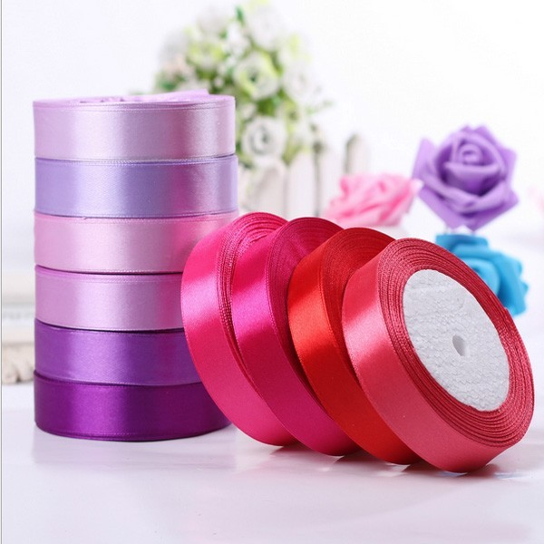 High Quality Pretty Decorative Factory Wholesale Polyester Satin Ribbon Supply
