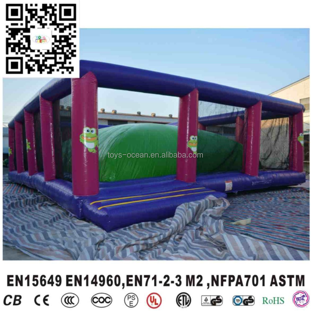 Giant Jump Inflatable Air Mountain/Inflatable Soft Mountain For Outdoor Activity