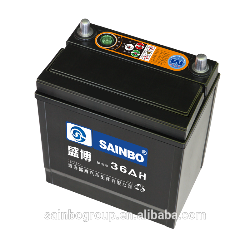 SAINBO China supplier MF 88ah truck and car 12v battery