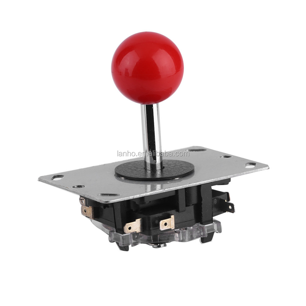 Arcade joystick DIY Joystick Red Ball 4/8 Way Joystick Fighting Stick Parts for Game Arcade