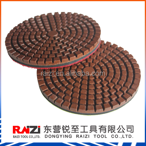 3 Inch Copper Bond Wet Transitional Polishing Pads for Concrete Floor