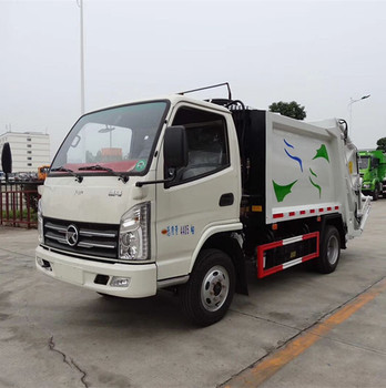China 6 CBM compactor garbage truck for sale