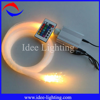 5W galaxy fiber optic light kit