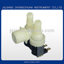 PTO 20P plastic wahsing machine use one inlet two outlet solenoid valve