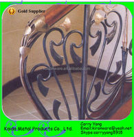Decorative Interior Wrought Iron Stair Railings