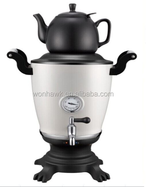 New Home Appliance 2015 Electric Kettle Modern Samovar with Thermometer