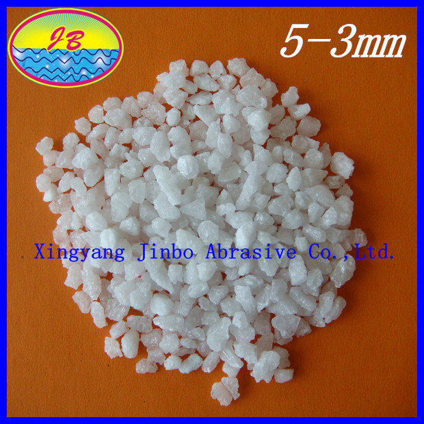 White fused alumina grits with Al2O3 99.2 min