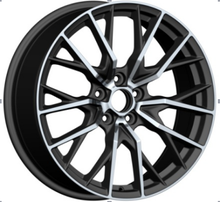 4X4 Alloy Wheels with black machine face