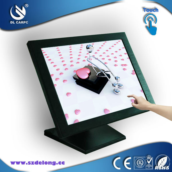 High Quality Industrial Computer 15 Inch Intel Atom N2600 LCD Touch Screen All in One PC