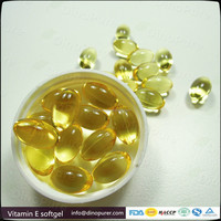 Vitamin E softgel capsule for whitening skin animate aloe vera & vitamin e facial oil