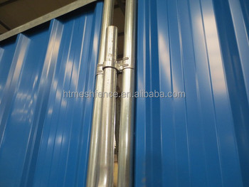 2M Height Steel Privacy Hoarding Fence Panel