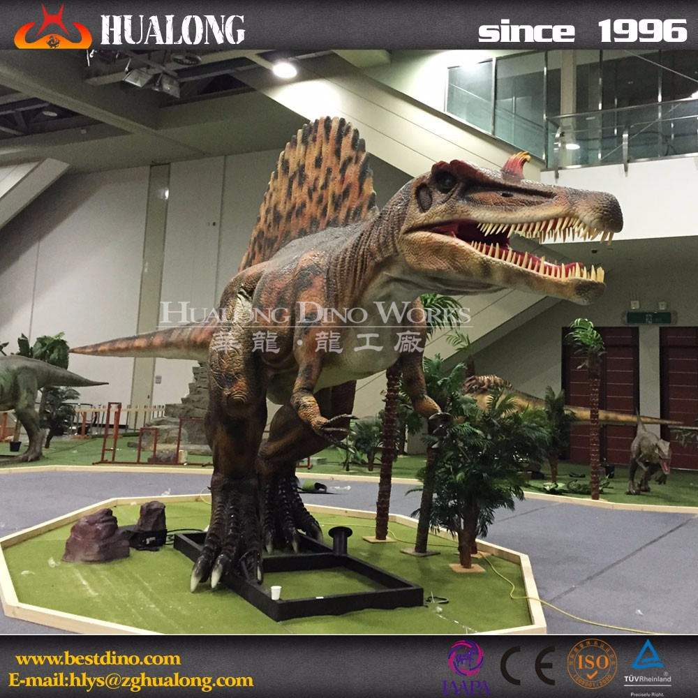 2017 Exhibition Animatronic Spinosaurus Dinosaur Sculpture
