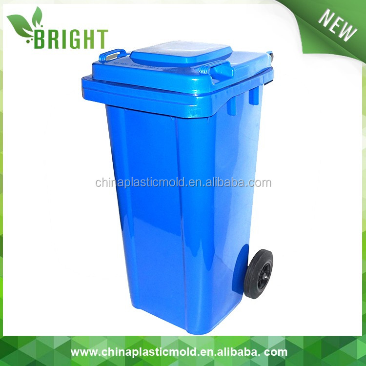 120l plastic garbage bin recycled waste can bulk trash cans