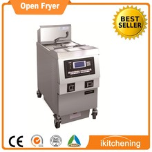 Ikitchening KFC chicken chicken deep fryer machine, open fryer, chicken wings frying machine
