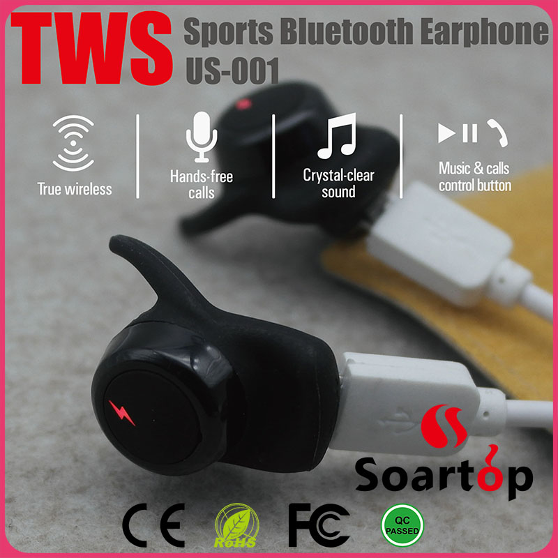 2017 newest design bluetooth wireless stereo sports earphone