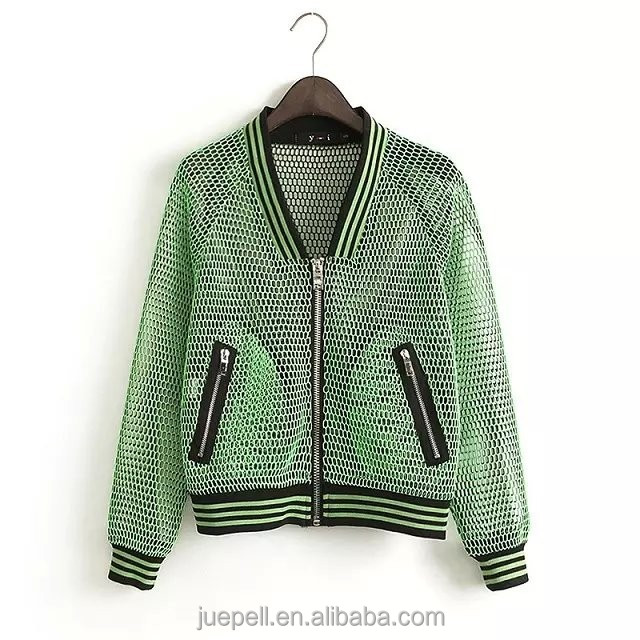 clothes manufacturer 2015 jacket OEM fiberglass women bomber jacket