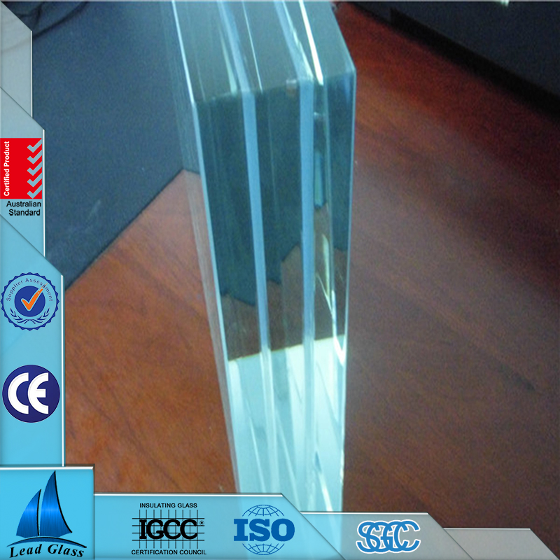 10mm low iron clear tempered glass price with CE certification