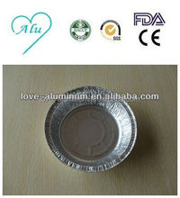Disposable Best-Selling Environmental Round Aluminium Foil Pot With Lid
