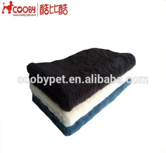 Cute Soft Warm Pet Puppy Dog Cat Mat Pad Cover Plush Blanket Random Color